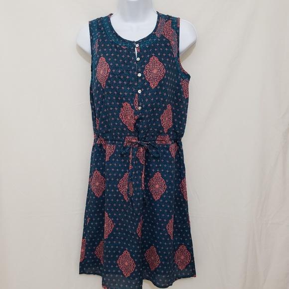 Lucky Brand Dresses & Skirts - 🆕️ Lucky Brand Midi Dress XS Ocean Blue